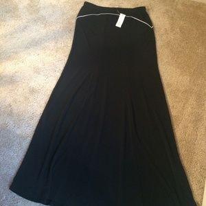 NY&CO Black Summer Maxi Skirt, (XS)- New